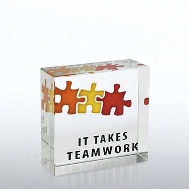 Mini Art Cubes - It Takes Teamwork