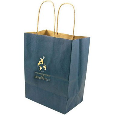 Kraft Paper Gift Bag - You Make a World of Difference