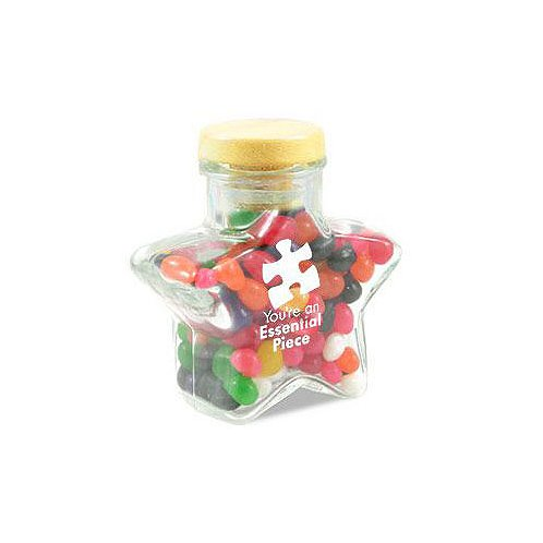 Essential Piece Star Glass Candy Jar