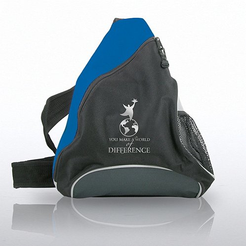 You Make a World of Difference Slingback Pack