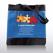 Character Totebag - It Takes Teamwork