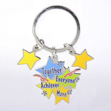 Simply Charming Key Chain - TEAM