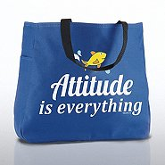 Tote Bag - Attitude is Everything Fish
