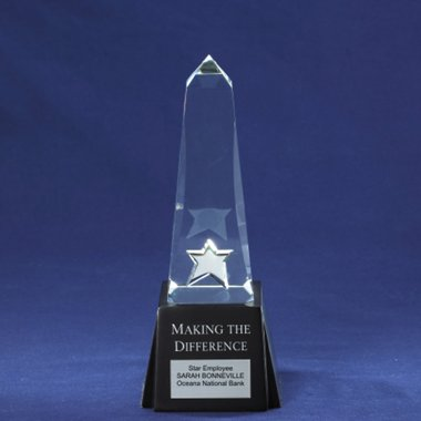 Obelisk Monument Trophy - Making the Difference