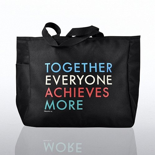Together Everyone Achieves More Tote Bag