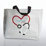 Tote Bag - Stethoscope: We Appreciate You