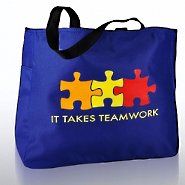 Tote Bag - It Takes Teamwork