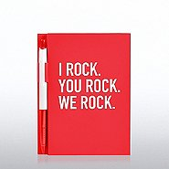 Value Journal & Pen Gift Set - I Rock. You Rock. We Rock.