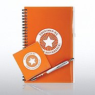 Journal and Accessory Gift Set-Together we Make a Difference