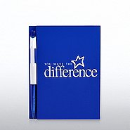 Value Journal & Pen Gift Set - You Make the Difference