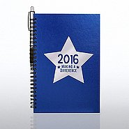 Foil-Stamped Journal & Pen Gift Set - 2016 MAD