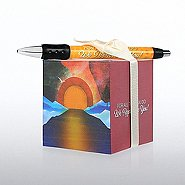 Note Cube & Pen Gift Set - We Appreciate You - Sunrise