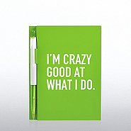 Value Journal & Pen Gift Set - I'm Crazy Good At What I Do