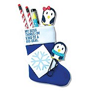 Holiday Stocking Gift Set: My Boss...Kind of a Big Deal
