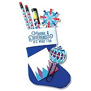 Holiday Stocking Gift Set - Making A Difference