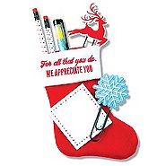 Holiday Stocking Gift Set - Reindeer - We Appreciate You