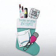 Holiday Stocking Gift Set - Thanks for Being Awesome