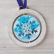 Spinner Ornament - Snowflake: Making a Difference