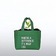 Flowering Sprout Tote - Making a Difference: It's What I Do