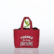 Flowering Sprout Tote - Thanks for Being Awesome