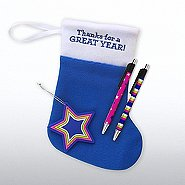 Holiday Stocking Gift Set - Thanks for a Great Year