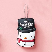 Oh What Fun! PVC Holiday Ornament-Snowman: Snow-One Like You