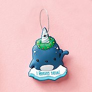 Oh What Fun! PVC Holiday Ornament - Narwhal: I Rocked 2016!