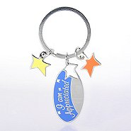 Simply Charming Key Chain - I Am Appreciated