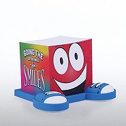Goofy Guy Note Cube - Going The Extra Mile For Smiles
