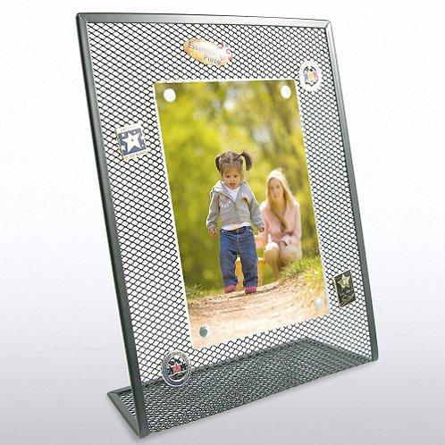Black Mesh Desktop Frame