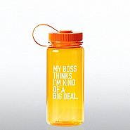 Value Wide Mouth Wellness Bottle - My Boss Thinks...