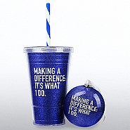 Holiday Glitter Gift Set-Making a Difference: It's What I Do