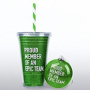 Holiday Glitter Gift Set - Proud Member of an Epic Team