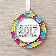 Spinner Ornament - Thanks For Making 2017 A Great Year