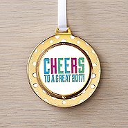 Spinner Ornament -  Cheers To A Great 2017!