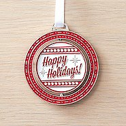 Spinner Ornament - Happy Holidays - Thanks for all You Do