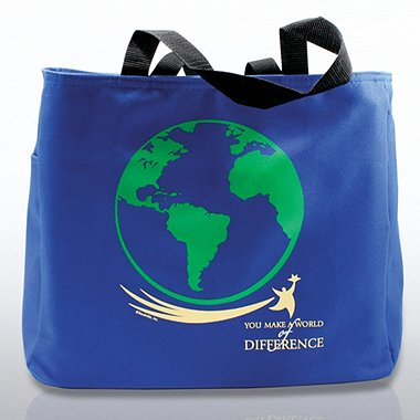 Tote Bag - You Make a World of Difference