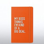 Poppin Journal - My Boss Thinks I'm Kind of A Big Deal