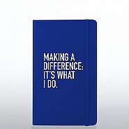 Poppin Journal - Making A Difference: It's What I Do