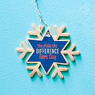 Festive Value Ornament - You Make The Difference Every Day