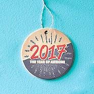 Festive Value Ornament - 2017 The Year Of Awesome