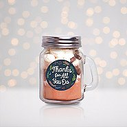 Hot Cocoa Mini Mason Jar - Thanks For All You Do