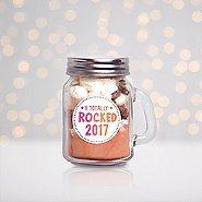 Hot Cocoa Mini Mason Jar - I Totally Rocked 2017