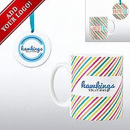 Add Your Logo - Cheerful Holiday Gift Set - Amazing Team