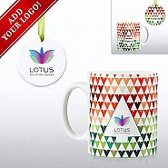 Add Your Logo - Cheerful Holiday Gift Set - MAD