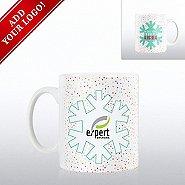 Add Your Logo - Full O' Joy Value Mug - My Boss Thinks...