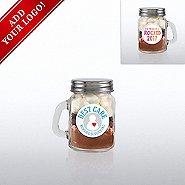 Add Your Logo - Hot Cocoa Mini Mason Jar - I Rocked 2017