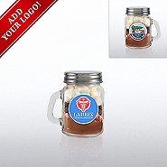 Add Your Logo - Hot Cocoa Mini Mason Jar - Wonderful Year