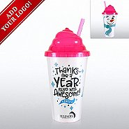 Add Your Logo - Jolly Whipped Lid Tumbler - Thanks