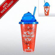 Add Your Logo - Jolly Whipped Lid Tumbler - Truly Appreciate